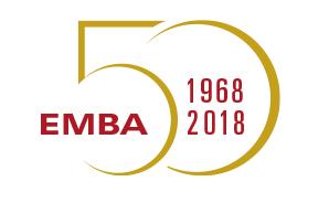 EMBA 50 Logo