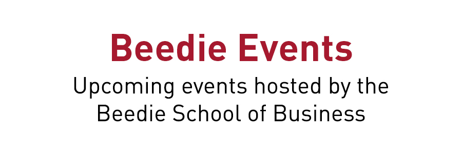Beedie Events