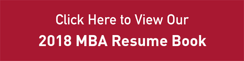 2016 MBA Resume Book